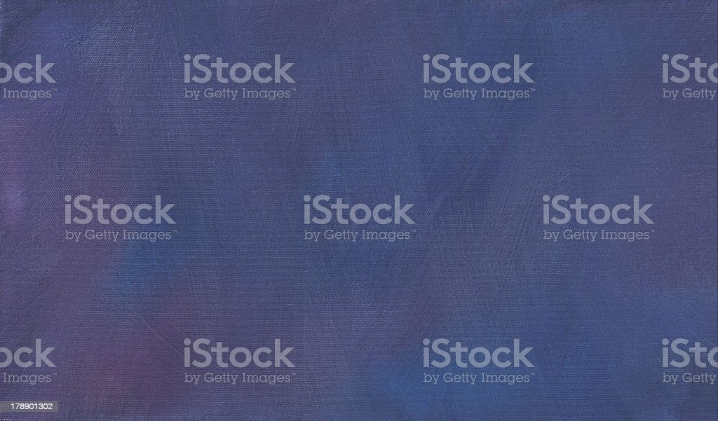 Purple and Blue Painted Brush Stroke Background stock photo