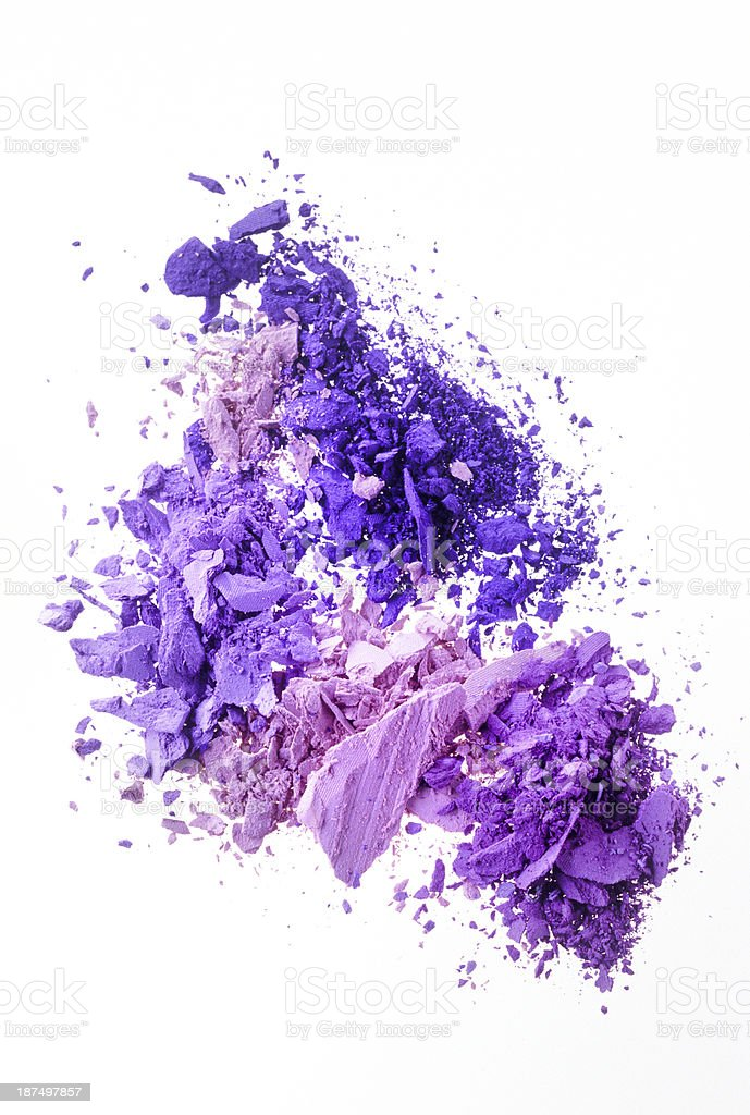 purple and pink eyeshadow royalty-free stock photo