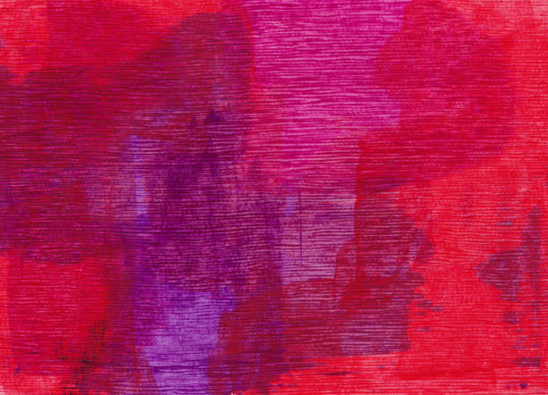 Purple and red hand painted background