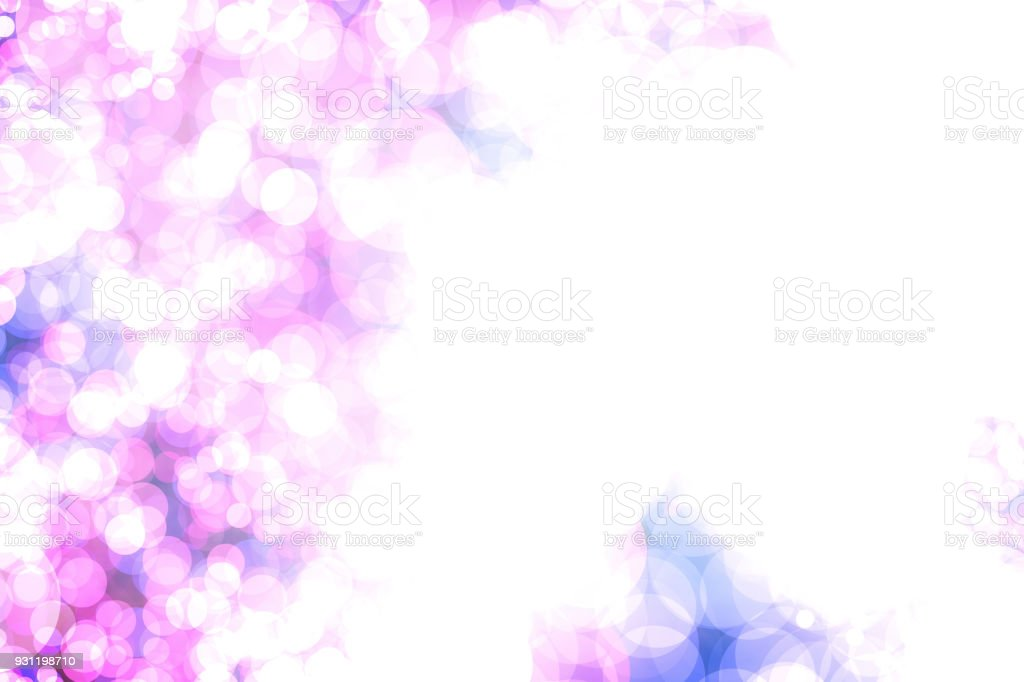 Purple and white soft lights abstract background stock photo
