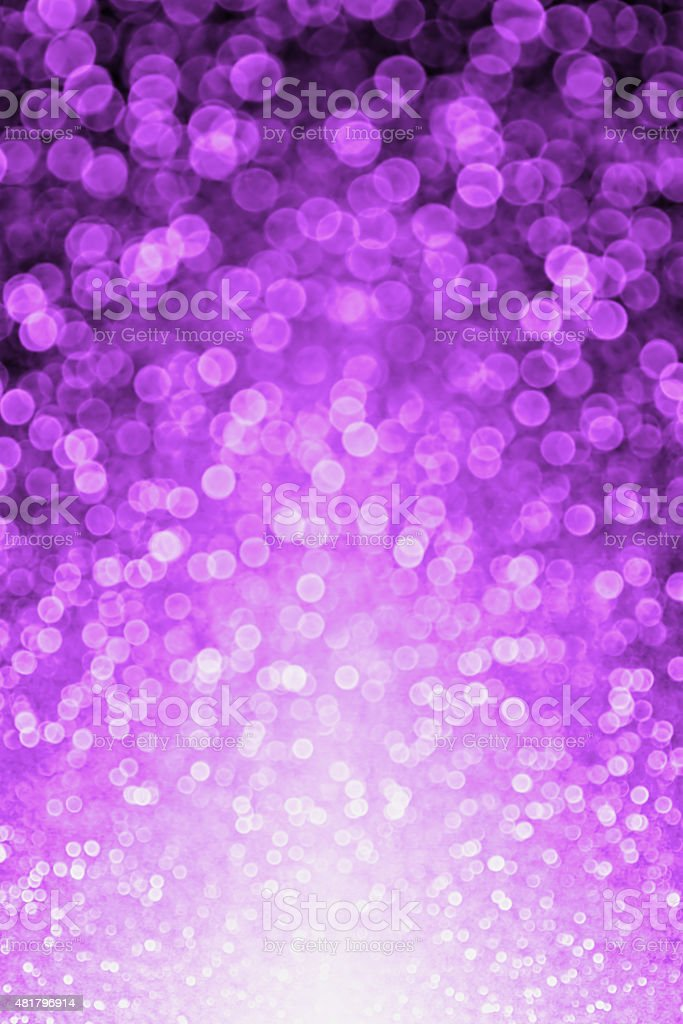 Purple Black Glitter Sparkle Background stock photo