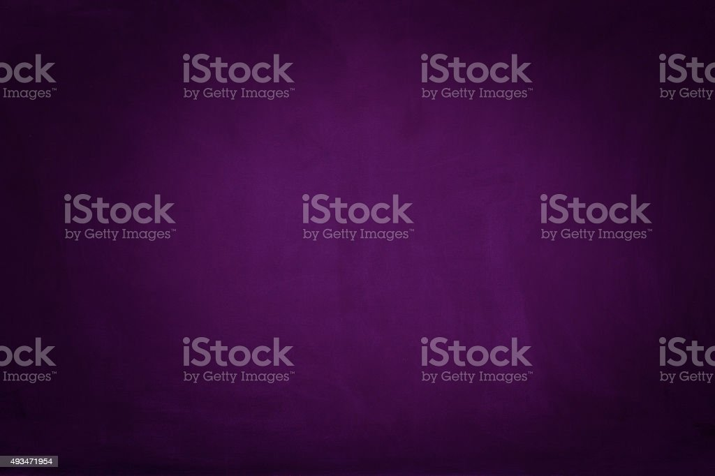 Purple blackboard