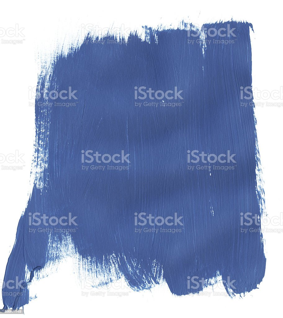 Purple Blue Section of Paint royalty-free stock photo