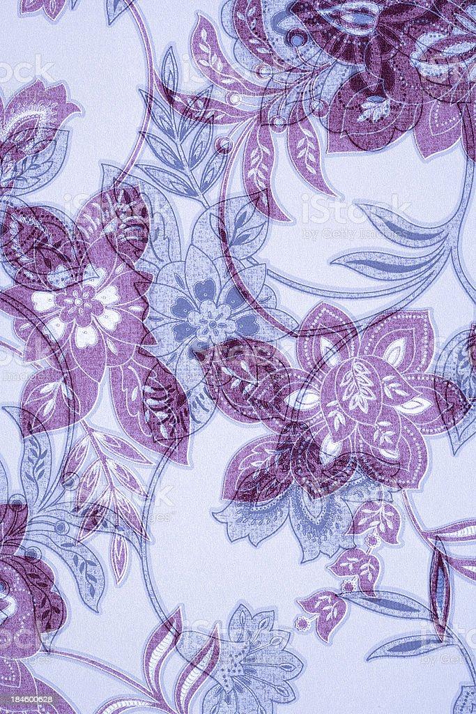 Purple & Blue Victorian Background stock photo