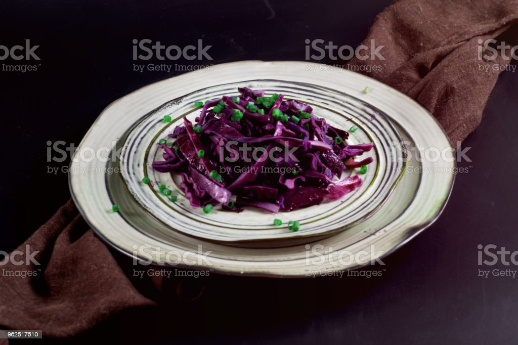 Purple cabbage - Royalty-free Agriculture Stock Photo