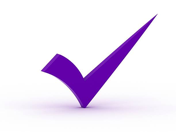 Image result for purple check mark