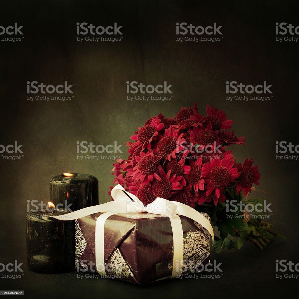 Purple chrysanthemum bouquet royaltyfri bildbanksbilder