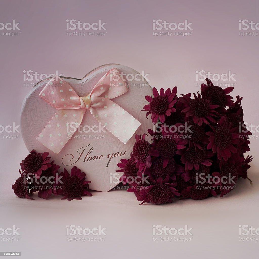 Purple chrysanthemum bouquet Стоковые фото Стоковая фотография