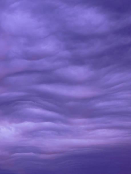 Lila Wolken – Foto