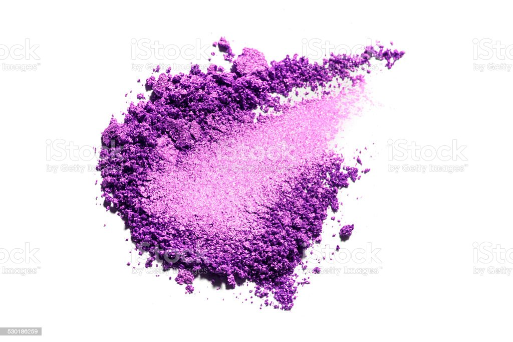 Purple Color Eyeshadow stock photo