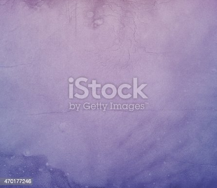 Faded rusty purple color vintage soft grunge grain and dust surface rough textured graphic background.