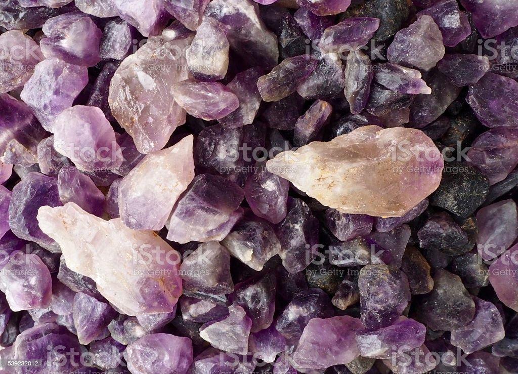 Purple colour rocks foto de stock libre de derechos