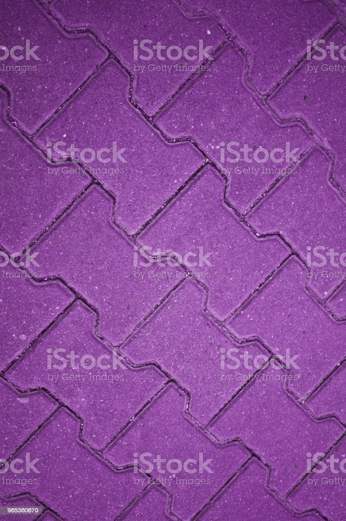 Purple Concrete Tile Floor, Wall, Fence royalty-free stock photo