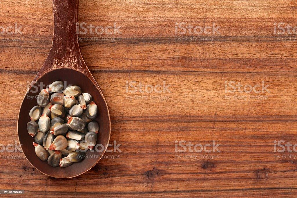 Violet de maïs à éclater photo libre de droits
