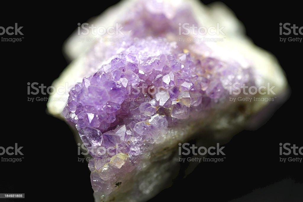 Purple Crystals royalty-free stock photo