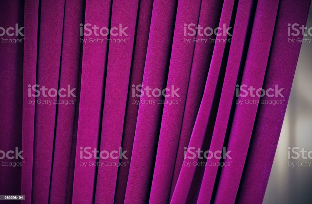 Purple curtain, background, high resolution royalty-free stock photo
