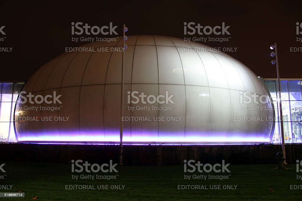Purple Dome stock photo