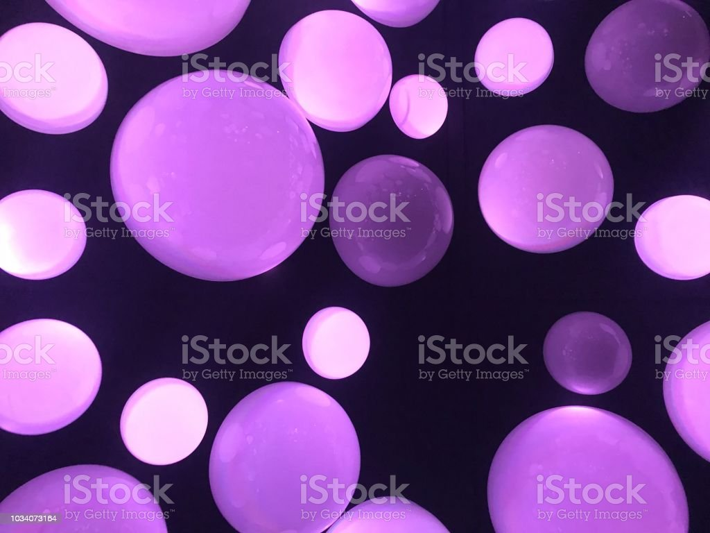 Purple dots stock photo