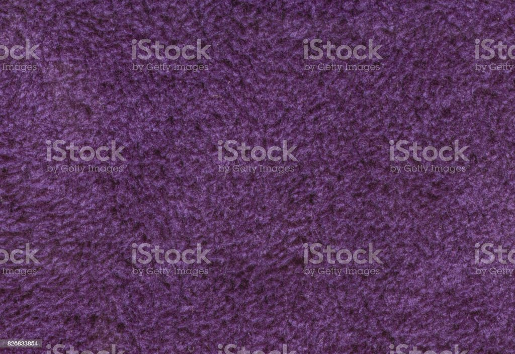 Purple Double Sided Terry Towelling Fabric Texture