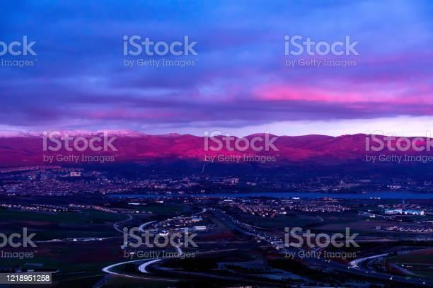 Purple Dusk Stock Photo - Download Image Now