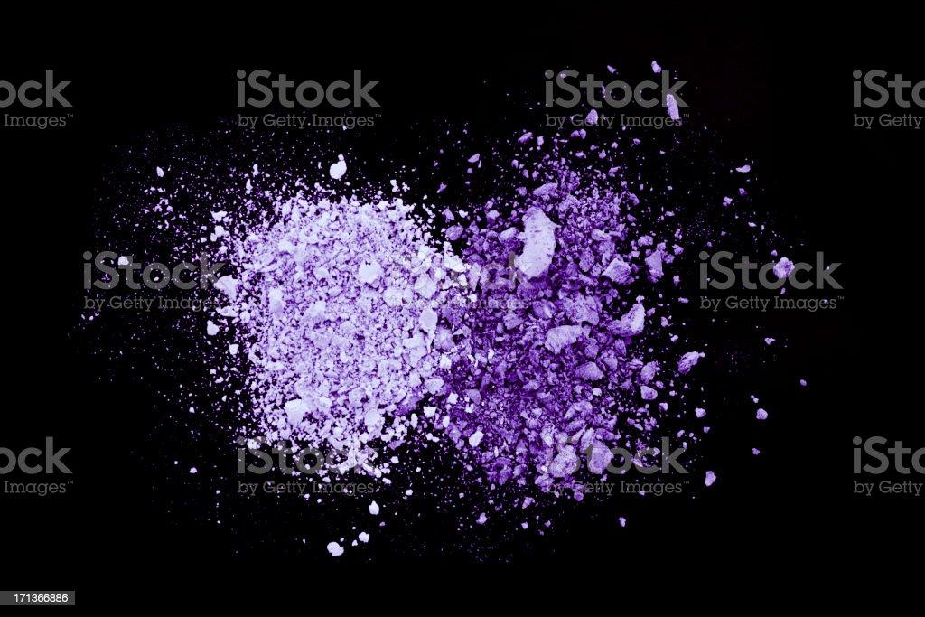 Purple Eyeshadow stock photo
