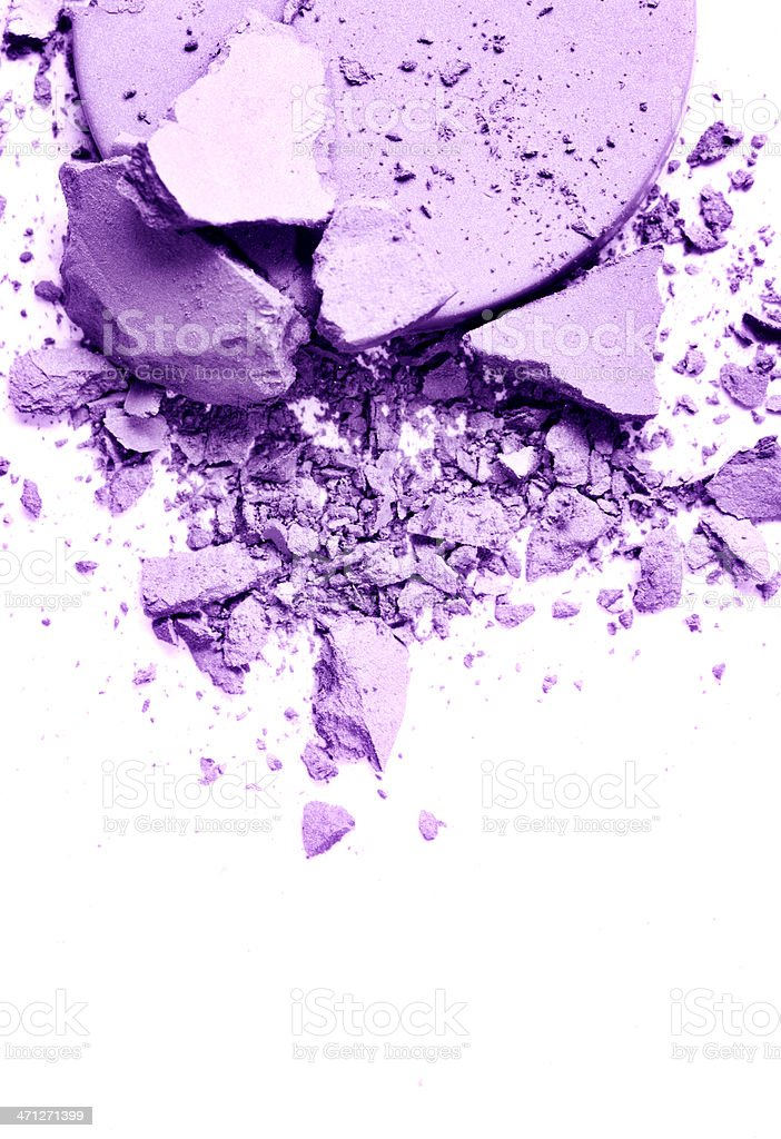 Purple Eyeshadow royalty-free stock photo