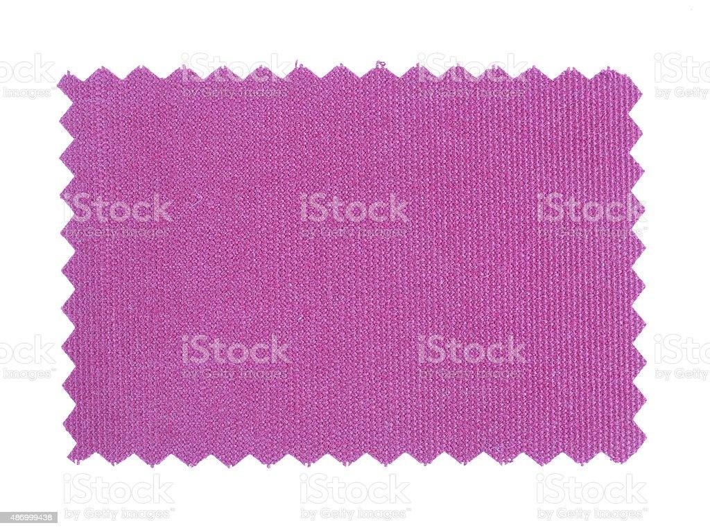 Purple Fabric sample stock photo