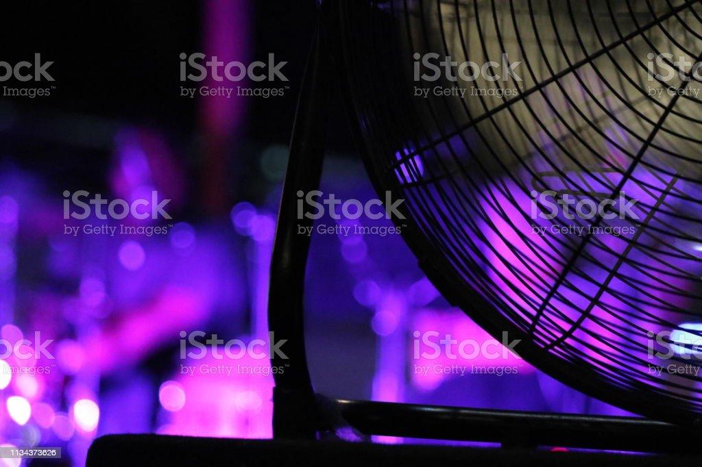 Fond de ventilateur pourpre - Photo