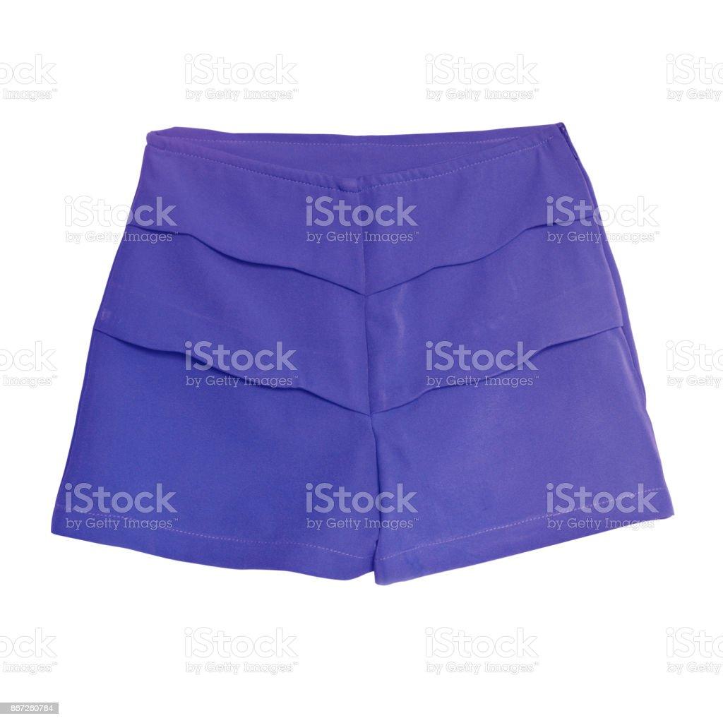 Corto Púrpura Aislado Fotografía Mujer Sobre Pantalón Fondo De EWrEqngXp