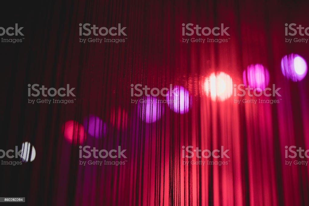 Purple Festive Valentines elegant abstract background, wall geometry decoration stock photo