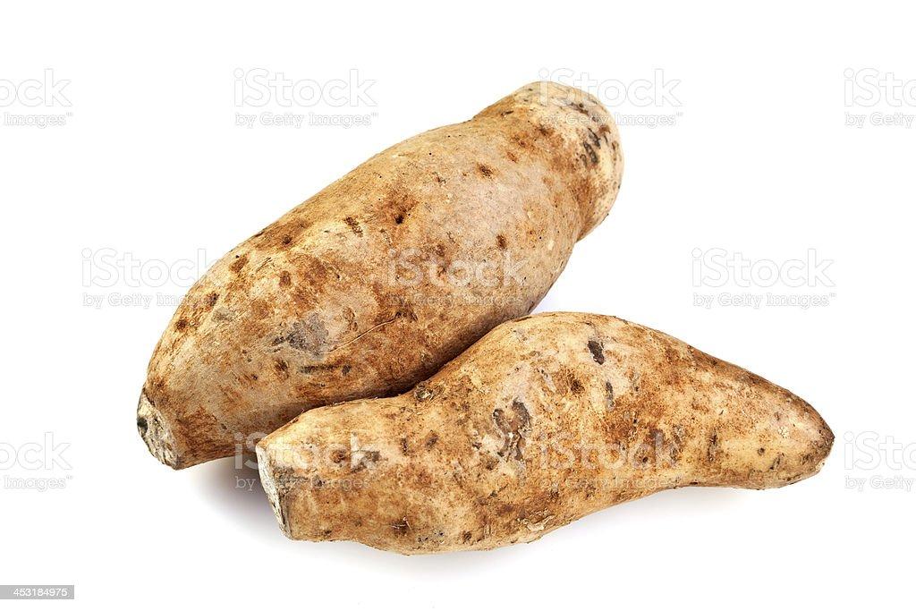 Purple Fleshed Sweet Potato royalty-free stock photo