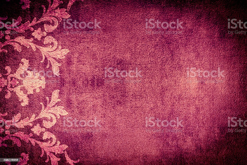 Floral Fundo roxo Abtract foto royalty-free