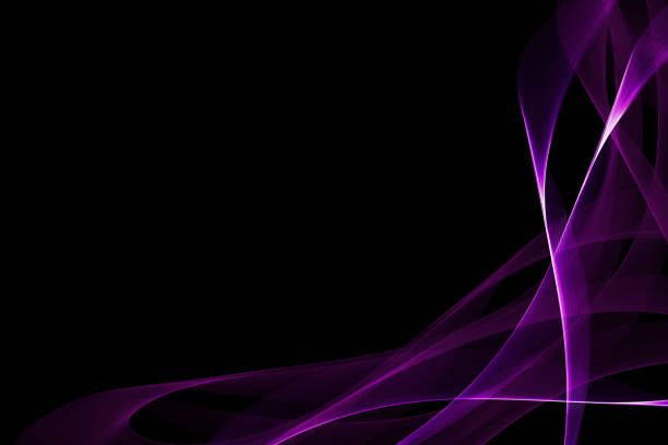 purple frame modern background stock photo