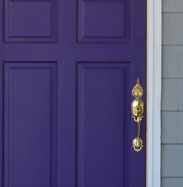 Royalty Free Purple Front Door Pictures Images And Stock Photos