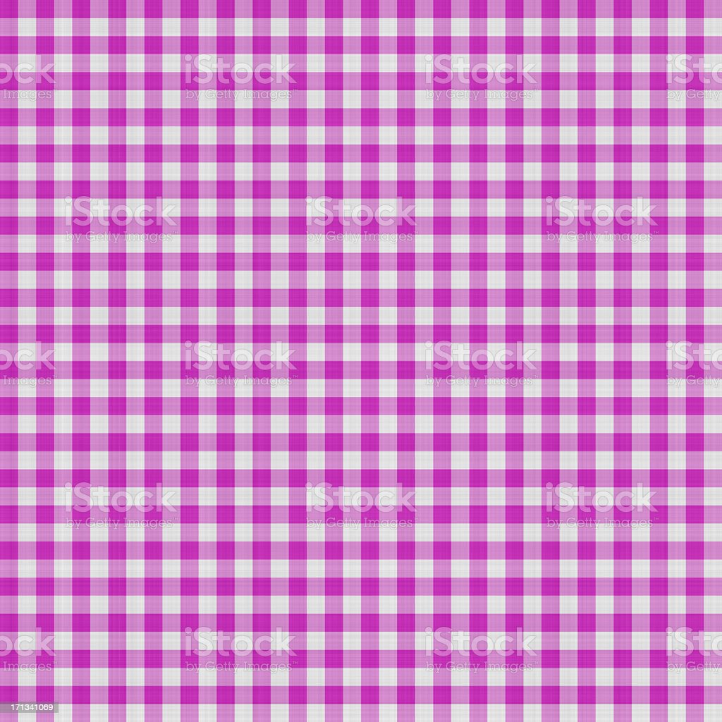Purple Gingham Textile Pattern | Fabrics and Wallpapers royalty-free stock photo