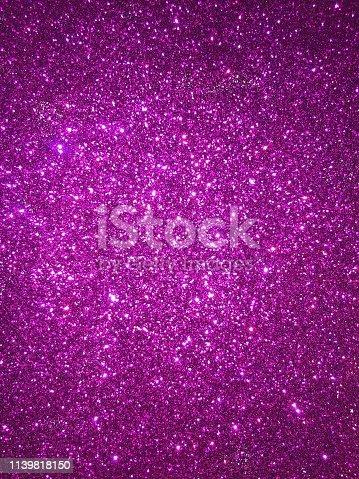 887762464 istock photo Purple glitter 1139818150
