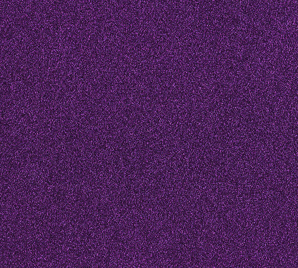 purple glitter stock photo