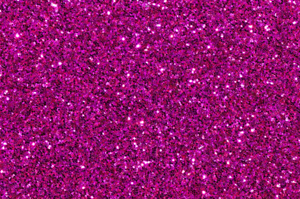 purple glitter texture abstract background - magenta stock photos and pictures