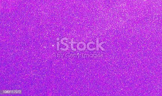 istock Purple glitter texture background 1083117072