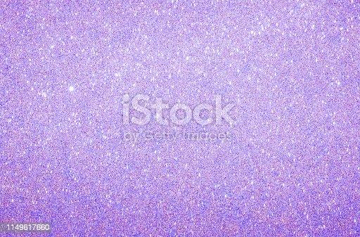 istock Purple  glitter texture background 1149617660