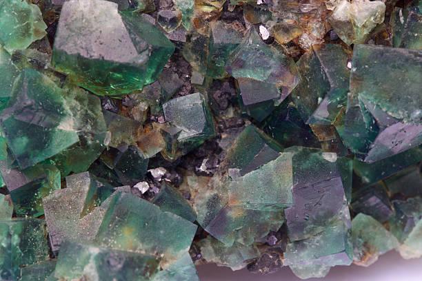 purple green fluorite