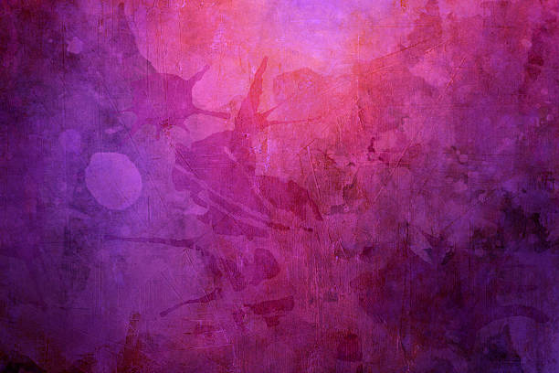 purple grunge  background - purple watercolor stock photos and pictures