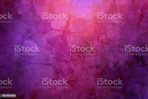 Photo of purple grunge  background