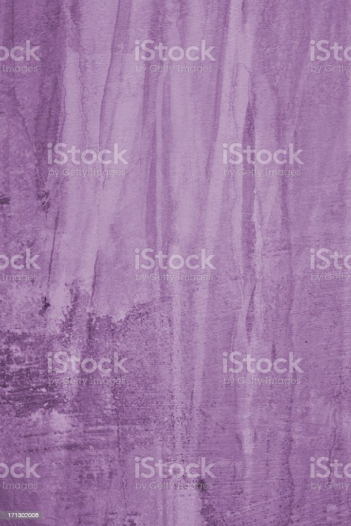Purple grunge background with erosion stains and leaks royalty-free stock photo
