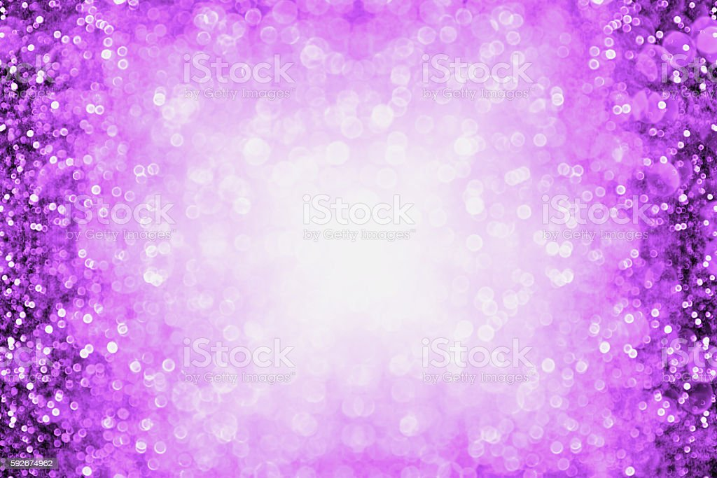 Purple Halloween Club Or Birthday Party Invitation Background
