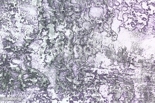 istock purple huge cracks on aged stucco texture - nice abstract photo background 1204649189