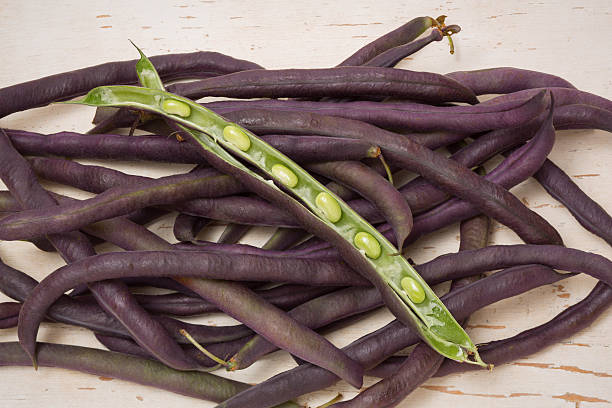 purple hull peas - hull stock pictures, royalty-free photos & images