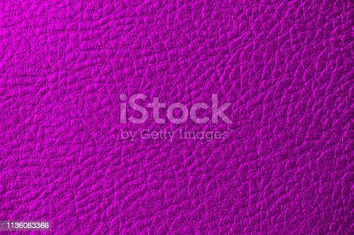 Purple Leather Artificial Background Dark Magenta Shiny Skin Fake Hot Pink Texture Bumpy Pattern Macro photography Copy Space Design template for presentation, flyer, card, poster, brochure, banner