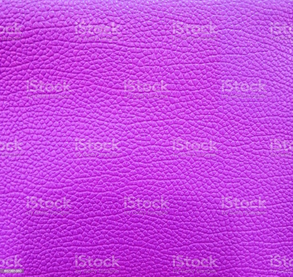 Purple leather background stock photo