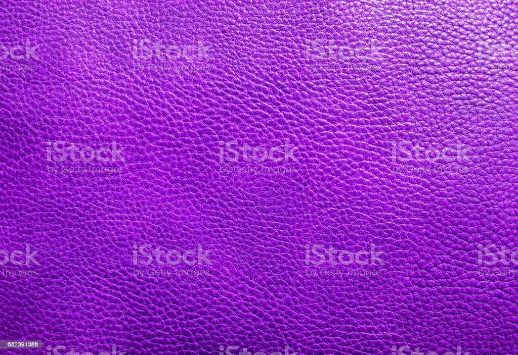 Purple leather texture background stock photo